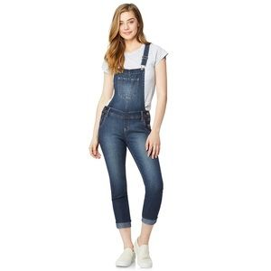Wallflower | Midrise Skinny Overalls Juniors Large